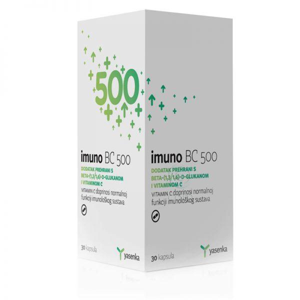 YASENKA Imuno BC 500 kapsule